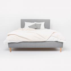 Łóżko tapicerowane SIMON ze...